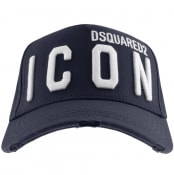 Product Image for DSQUARED2 Icon Baseball Cap Navy