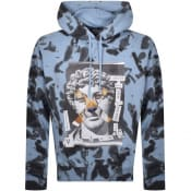 Product Image for Versace Jeans Couture Hey Reilly Hoodie Blue