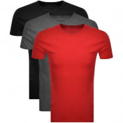 Product Image for Ralph Lauren 3 Pack Short Sleeve T Shirts Black