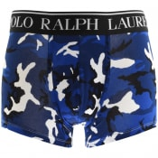 Product Image for Ralph Lauren Underwear Single Camo Boxer Trunks Bl