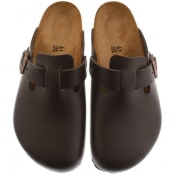 Product Image for Birkenstock Boston Suede Sandals Brown