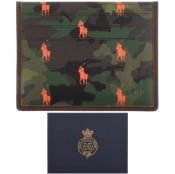 Product Image for Ralph Lauren Polo Logo Smooth Leather Card Holder