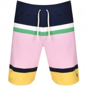 Product Image for Ralph Lauren Stripe Sweat Shorts Navy