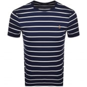 Product Image for Ralph Lauren Crew Neck Slim Fit T Shirt Navy