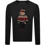 Product Image for Ralph Lauren Bear Wool Knit Jumper Grey