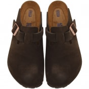 Product Image for Birkenstock Boston BS Suede Sandals Brown