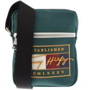 Product Image for Tommy Hilfiger Signature Mini Reporter Bag Green