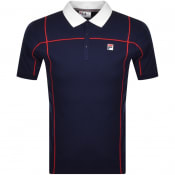 Product Image for Fila Vintage Terrinda Polo T Shirt Navy