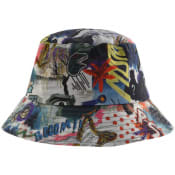 Product Image for Paul Smith Logo Bucket Hat Blue