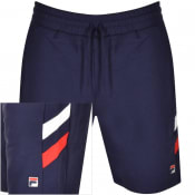 Product Image for Fila Vintage Alley Double Stripe Sweat Shorts Navy