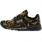 Product Image for Versace Jeans Couture Logo Trainers Black