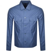 Product Image for BOSS Nolan Long Sleeved Shirt Blue