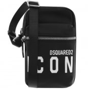 Product Image for DSQUARED2 Icon Crossbody Bag Black