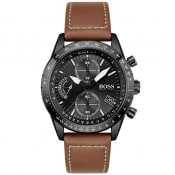Product Image for BOSS 1513851 Pilot Edition Chronograph Watch