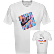 Product Image for Nike Crew Neck Wild T Shirt White