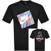 Product Image for Nike Crew Neck Wild T Shirt Black
