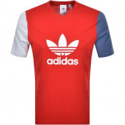 Product Image for adidas Originals Trefoil T Shirt Red