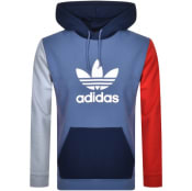 Product Image for Adidas Originals Trefoil Hoodie Blue