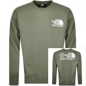 Product Image for The North Face Coordinates Sweatshirt Green