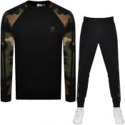 Product Image for adidas Originals Camouflage Tracksuit Black