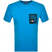 Product Image for The North Face Black Box Cut T Shirt Blue