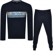 Product Image for BOSS Bodywear Authentic Tracksuit Navy