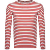 Product Image for Armor Lux Heritage Long Sleeved T Shirt Pink