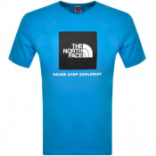 Product Image for The North Face Raglan Redbox T Shirt Blue