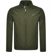 Product Image for Gant Quilted Windcheater Jacket Green