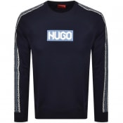 Product Image for HUGO Dubeshi Sweatshirt Navy