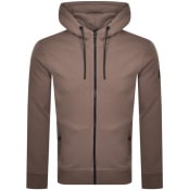 Product Image for BOSS Zounds 1 Full Zip Hoodie Brown