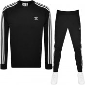 Product Image for adidas Originals 3 Stripes Tracksuit Black