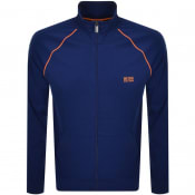 Product Image for BOSS Bodywear Full Zip Sweatshirt Blue