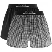 Product Image for BOSS Underwear Double Pack Boxer Shorts