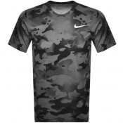 Product Image for Nike Training Slim Camo T Shirt Grey