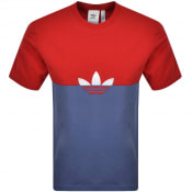 Product Image for adidas Originals Slice Trefoil T Shirt Red