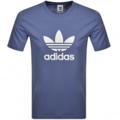 Product Image for adidas Originals Trefoil T Shirt Blue