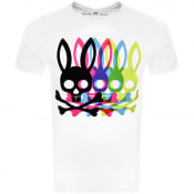 Product Image for Psycho Bunny Bradley Graphic T Shirt White