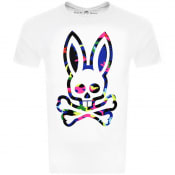 Product Image for Psycho Bunny Bradley Crew Neck T Shirt White