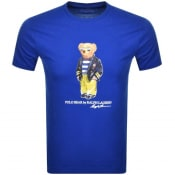 Product Image for Ralph Lauren Short Sleeved Logo T Shirt Blue