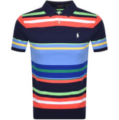 Product Image for Ralph Lauren Basic Mesh Polo T Shirt Navy