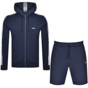 Product Image for BOSS Set 2 Tracksuit Navy