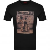 Product Image for HUGO Dussuri T Shirt Black