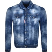 Product Image for DSQUARED2 Denim Sports Jacket Blue