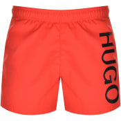 Product Image for HUGO ABAS Swim Shorts Red