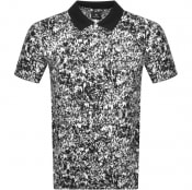 Product Image for PS By Paul Smith Crowd Print Polo T Shirt White