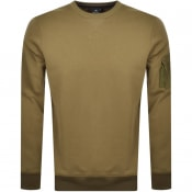 Product Image for PS By Paul Smith Crew Neck Sweatshirt Khaki