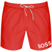 Product Image for BOSS Mooneye Swim Shorts Red