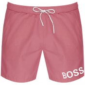 Product Image for BOSS Mooneye Swim Shorts Pink