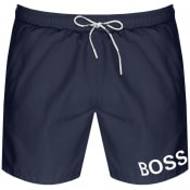 Product Image for BOSS Mooneye Swim Shorts Navy